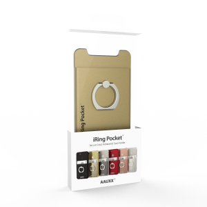 Iring pocket package gold