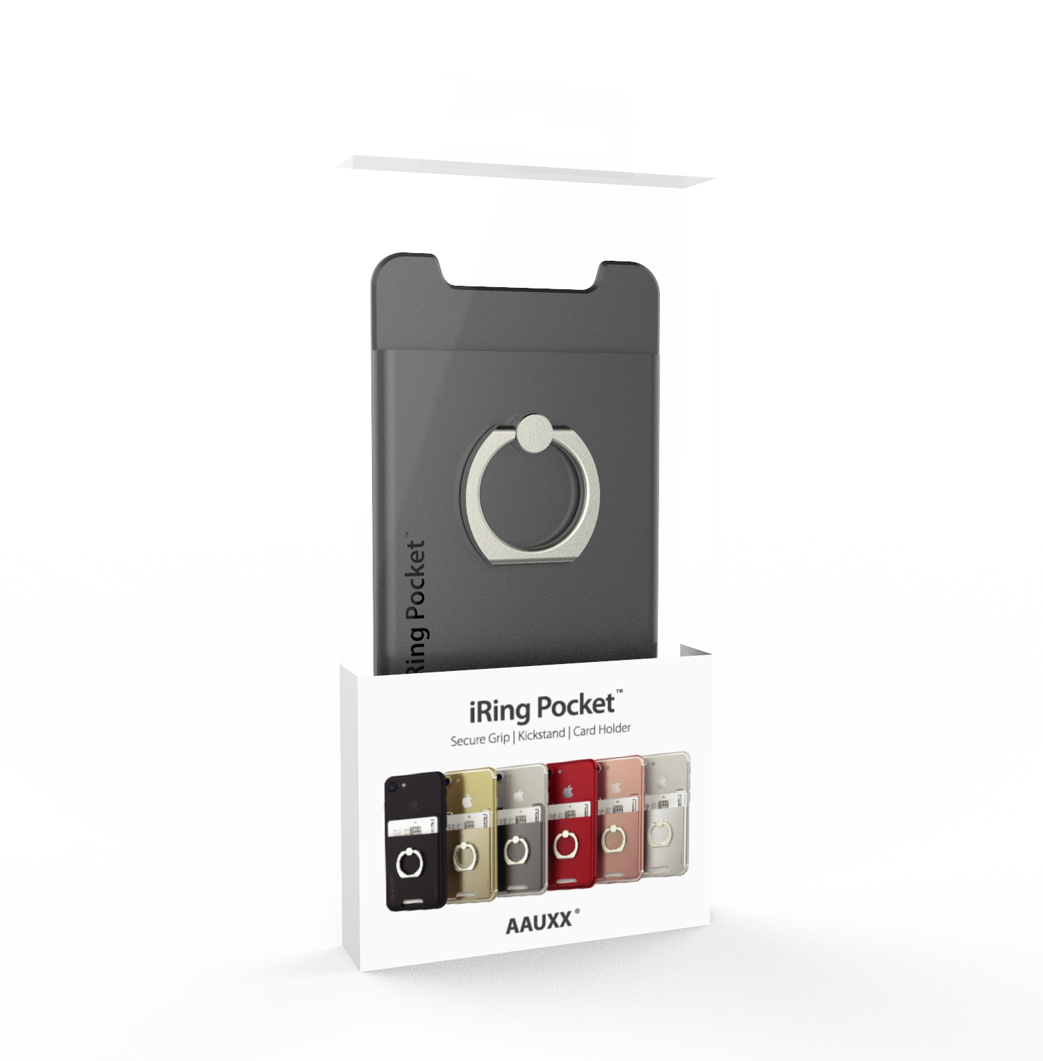 Iring pocket package gray