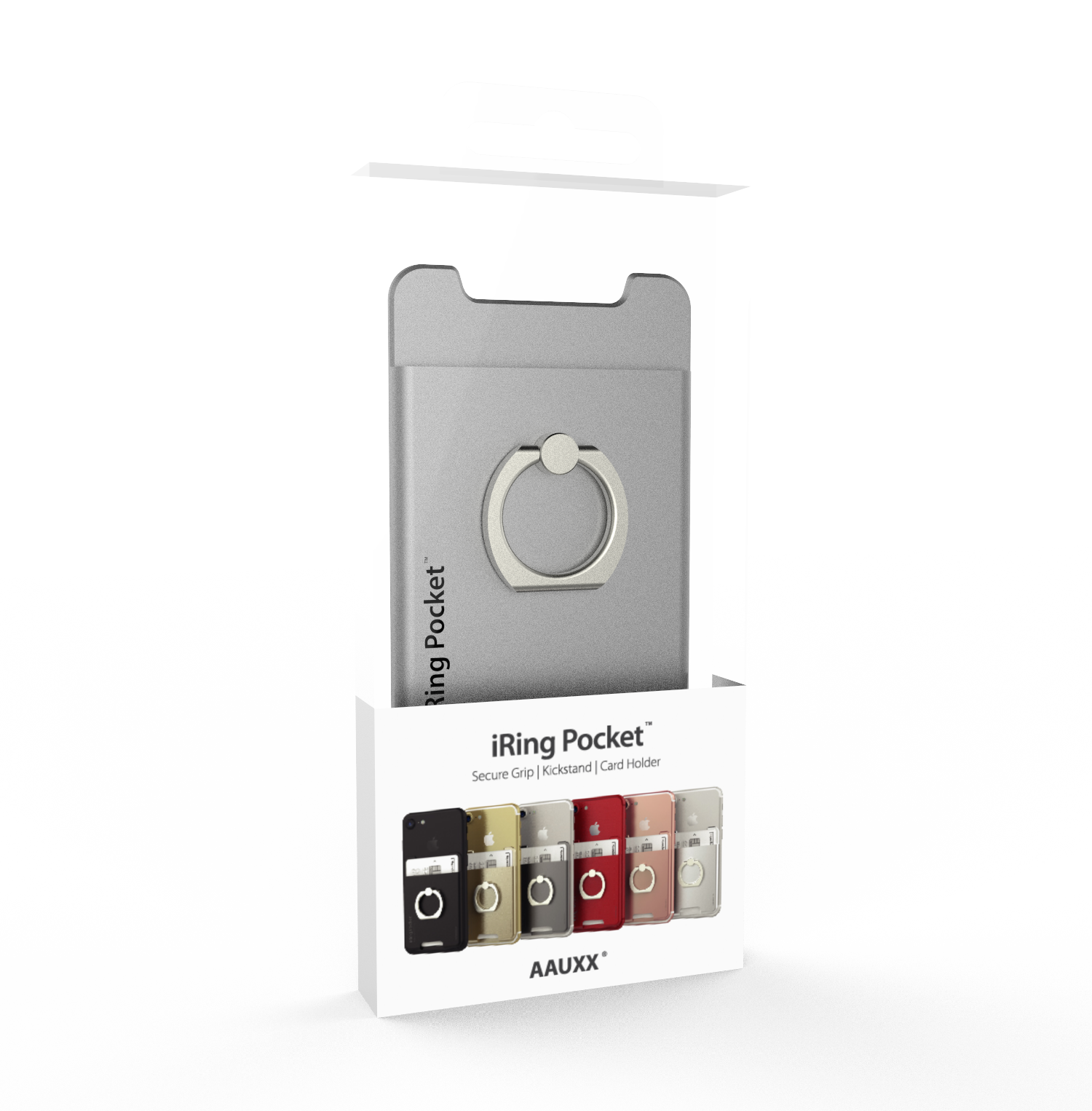 Iring pocket package silver