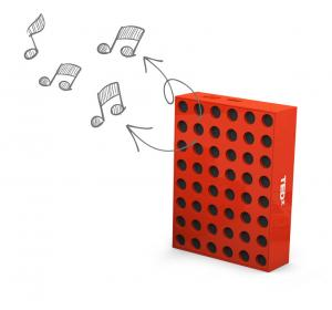 Office blocks speaker individual